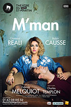 Affiche du spectacle : M'man