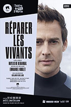 Affiche du spectacle : Réparer les vivants
